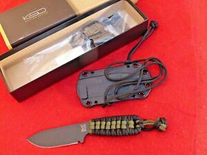 "Ka-Bar ESEE Becker Eskabar Fixed Blade Knife (3.25"" Black) BK14PC"