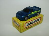 Matchbox Superfast MB13 The Buster Metallic Blue VERY RARE TYCO TOYS Box MIB