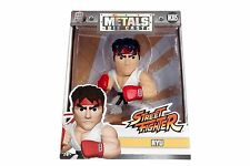 "Jada Toys 4"" Street Fighter Metals Diecast Action Figure Ryu M305 98061"
