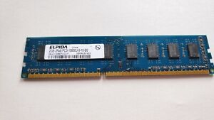 ☆ Elpida EBJ21UE8BDF0-DJ-F PC3-10600U-9-10-B0 DDR3-1333Mhz Desktop PC Memory RAM
