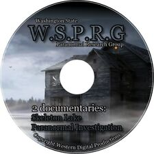 DVD Paranormal Research Investigation Haunted Home Cemetery Grave Ghost Sighting