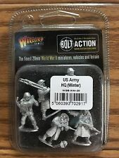 Bolt Action: Usa Army Hq Winter