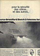 PUBLICITE  1968     BOSCH  phares voitures