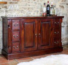 Nara solid mahogany living dining room furniture large sideboard
