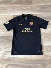 Barcelona 2011-12  Black Away Shirt Nike Size S