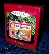 NEW Mint 1997 Hallmark THE LONE RANGER Hi-Yo Silver! Lunchbox Keepsake Ornament