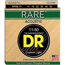 DR Strings RPML11 Corde Rare Phosphor Bronze 11-50