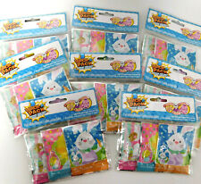 LOT OF 8 - Easter Wack-A-Pack Self-inflating Mini Balloons - 24 TOTAL