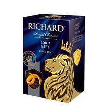 Richard Tea Lord Grey Bergamot Lemon Loose Leaf Russia Earl Grey Best Box 90g