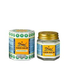 Original Tiger Balm White Ointment massage for muscle ache and pain relief 2x19g