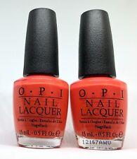 OPI Nail Polish BRIGHTS POWER NL B67 Tangerine Pumpkin Carrot Orange Lacquer