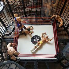 WWE Elimination Chamber Wrestling Figure Play Set Bundle Mattel Ring Boxed 2010