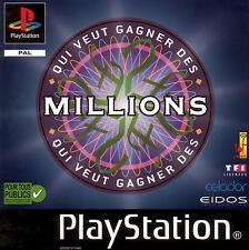 ★★ Jeu PS1: Qui Veut Gagner des Millions ? Seconde Edition ★★
