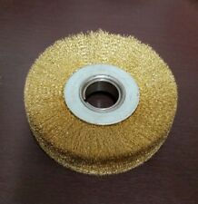 """5"""" Upper Roughing Brush Wire Wheel for Automatic Shoe Roughing Machine, Lot of 1"""