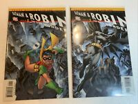 Batman and Robin Boy Wonder Jim lee Frank Miller Issue #1 Variant Covers. NM