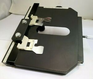 Tray Stage with holder Excellent Genuine Microscope for Nikon Labophot 2 A IIA