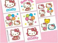 Hello Kitty Tattoos - Birthday Party Supplies - Favours Loot Bags Kitty Sanrio