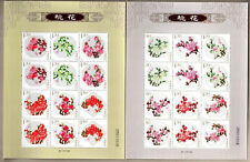 China 2013-6 Peach blossom with Smell Flowers stamps 桃花, Mini Pane