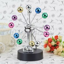 Kinetic Ferris Wheel Perpetual Motion With Colorful Balls Office Desk Decor