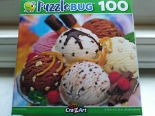 New 100 Piece Jigsaw Puzzle (Ice Cream Sundae) Great for Kids and Adults!