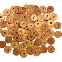 Matt Black 15mm 20mm 23mm 28mm Quality 4 Hole Buttons Joblot Craft BB48A-BB48D