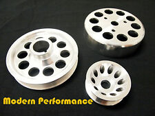 Honda S2000 AP1 AP2 Light Weight Pulley Kits w/ Crank, Alternator, & W/P Pulleys