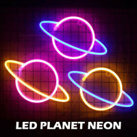 Neon Sign Light LED Wall  Lights Visual Artwork Bar Lamp Room Decor New AU