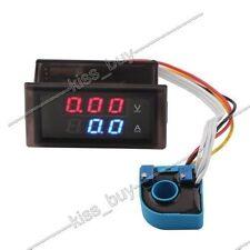 DC 100V 50A Digital LED Voltmeter Ammeter Charge /discharge Monitor 12V 24V CAR