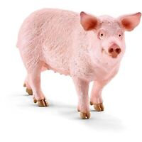 Schleich Pig Animal Farm Figure NEW IN STOCK Toys Educational