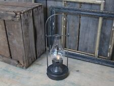 CHIC  ANTIQUE LED STALL LATERNE GLAS METALL 35,5 CM NEU