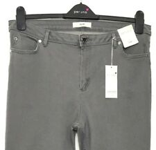 M&S Marks 18Short PerUna Luxe Grey Roma Sculpt&Lift Stretch Slim Leg Jeans BNWT