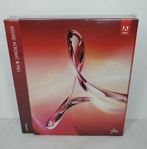 """Sealed"" Adobe Acrobat X Pro for Windows"