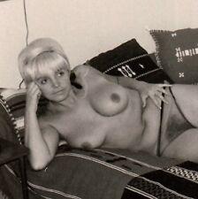 Nude bionda? Woman on Kilim/situati NUDE SIGNORA * VINTAGE 50s amatoriale PHOTO