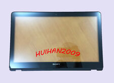 New for SONY VAIO SVF15AA1QM SVF15AA1MT Touch screen Digitizer Glass & Bezel