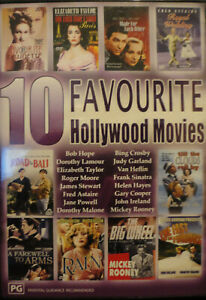 10 Favourite Hollywood movies,4Disc Bob Hope,Elizabeth Taylor,Roger Moore,Bing