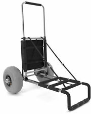 Beach Wagon with Big Wheels for Sand, Collapsible Heavy Duty Beach Cart