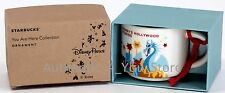 NEW Disney Parks Starbucks HOLLYWOOD STUDIOS You Are Here Mug ORNAMENT Cup