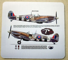 SPITFIRE Mk Royal Air Force RAF 1944  MOUSE MAT PAD