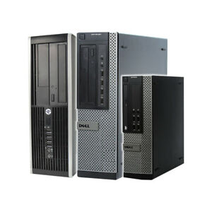 DELL HP PC COMPUTER DESKTOP QUAD CORE i5 16GB RAM WINDOWS 10 WIFI 480GB SSD