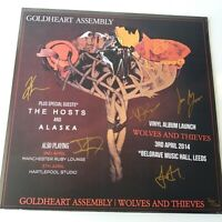 Goldheart Assembly - Wolves & Thieves - Vinyl LP UK 1st Press SEALED + Signed