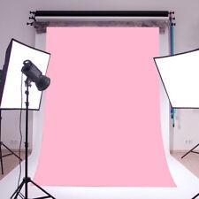3X5ft Plain Baby Pink Backdrop Vinyl photography photo prop Studio background