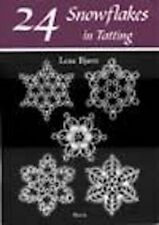24 Snowflakes In Tatting Pattern Book