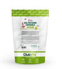 Children Multivitamin 90 Banana Chewy Tablet Sugar Free Best Taste Kids ClubVits