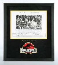 Jurassic Park Original Production Storyboard—Dilophosaurus Rears Up (JP11)