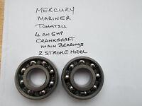 OUTBOARD MOTOR MERCURY-MARINER-TOHATSU 2 STROKE CRANKSHAFT  BEARINGS 4 AND 5HP