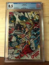 X-Men #5 (Feb 1992, Marvel) CGC 8.5 1st Appearance of Maverick, Omega Red app