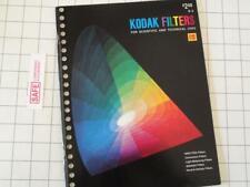 Kodak Filters - Scientific & Technical Uses B-3 Soft Cover 1st Print 1973 MM-534