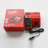 Replace Power Tools Milwaukee M18&M12 48-11-1815/1820 12~18V Battery Charger