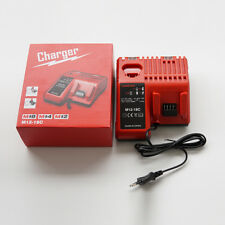 2-in-1 Milwaukee M18/M12 Power Tools  48-11-1815 12~18V Battery Replace Charger