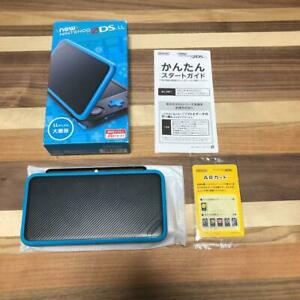 Nintendo new 2DS LL XL Accessory complete Used console Japanese only